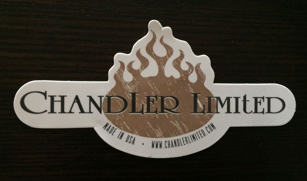 Chandler Limited Sticker